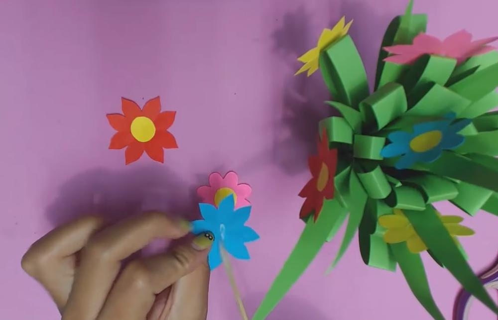 How To Make Super Easy Diy Paper Flowers For Kids
