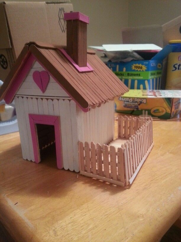 11 Gorgeous Popsicle Stick House Miniatures You Wish They Re Real